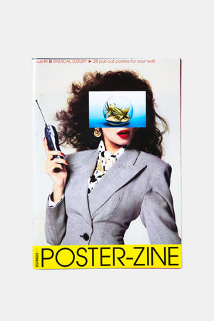 "David Lane and Richard Gray collaborate ""POSTER ZINE"""