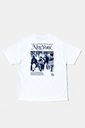 PREP SCHOOL GANGSTERS Tee / Paper and Ink Cotton Club