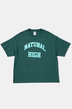 S/S NATURAL HIGH Tee GRN / PRMTVO