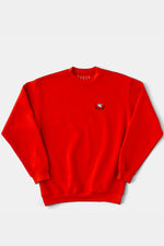 TOKEN SURFBOARDS Cinder Block Sweat Shirt (RED)