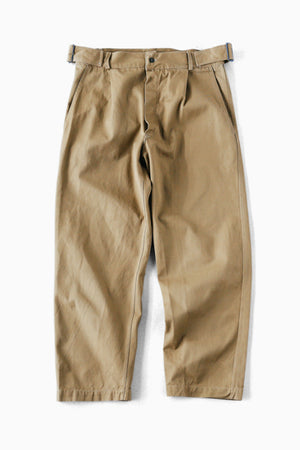 70's Italian Military Side Belted Pants