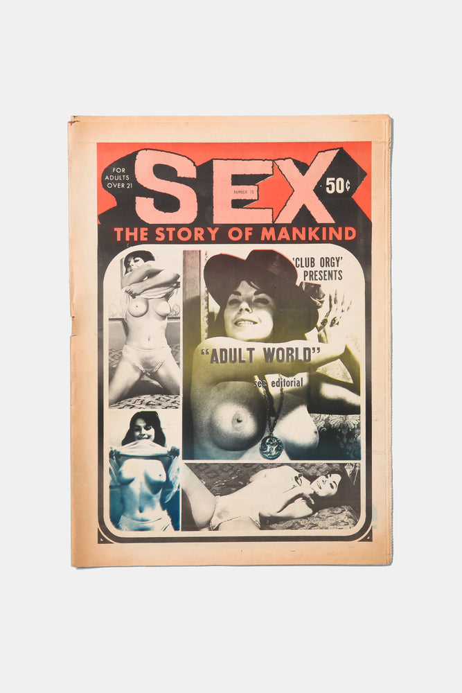 SEX- The Story of Mankind  / Underground Newspaper 1970's
