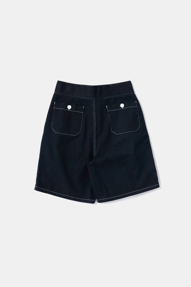 Australian Type Gurkha Shorts Black(Over-dye)