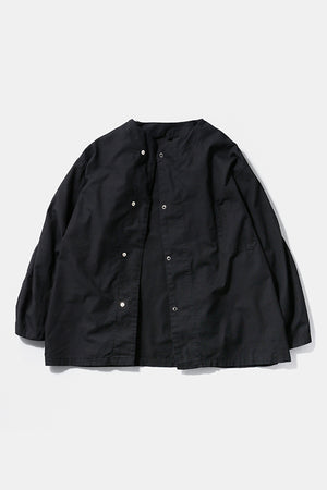 50's  Over-Dyed Black Sleeping Shirt