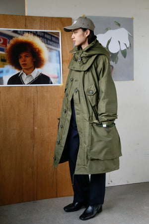 "Canadian ""ECW Parka"" / Peerless x Fifth with Liner Olive"