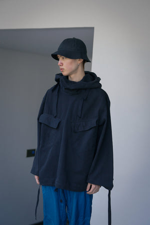 40's Over-dyed Snow Anorak Parka