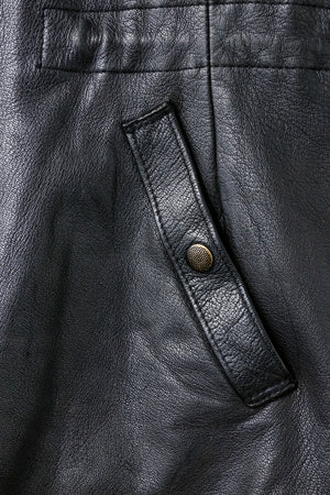 Swedish Military Officers Leather JKT