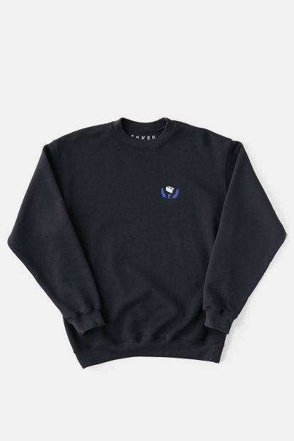 TOKEN SURFBOARDS Cinder Block Sweat Shirt (BLK)