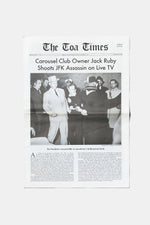 TOA Times Newspaper First Edition