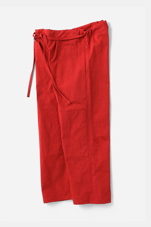 TUKI / karate pants(0121)red