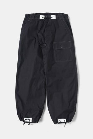 TUKI / over pants(0131) black