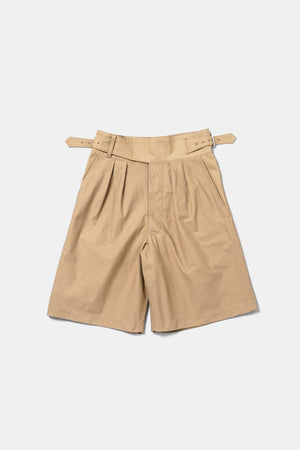 Big Gurkha Shorts Made with French Army Tent Fabric