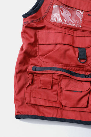 GOOD YEAR Work Vest Red