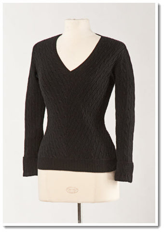Cheri Cable Sweater