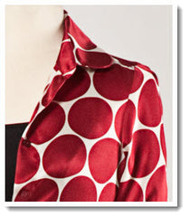 Grace Polka Dot Silk Print