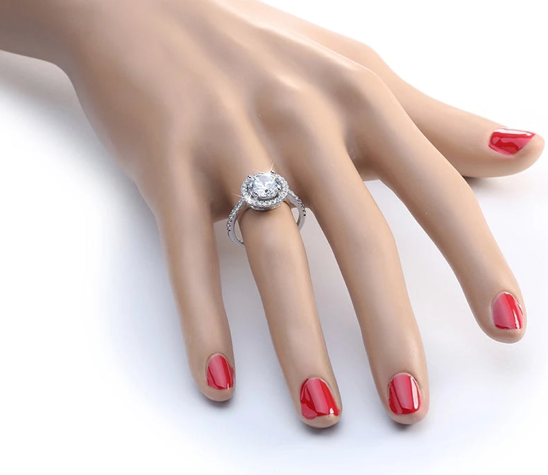 2019 New Luxury-CZ Ring