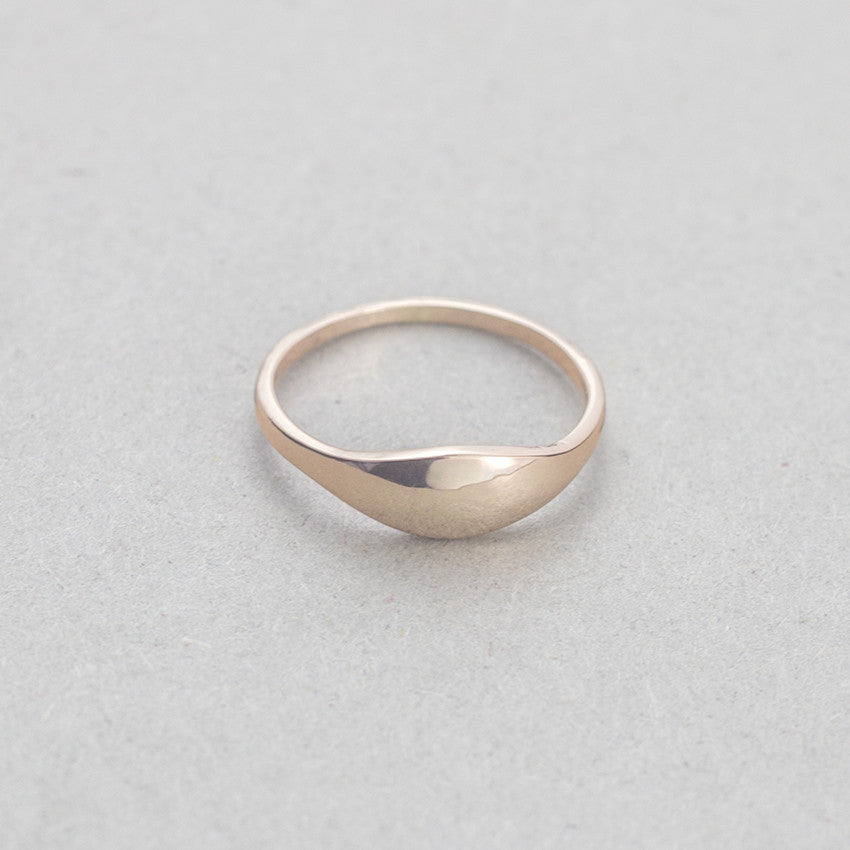 2019 New Simple, Retro-Round, Ring