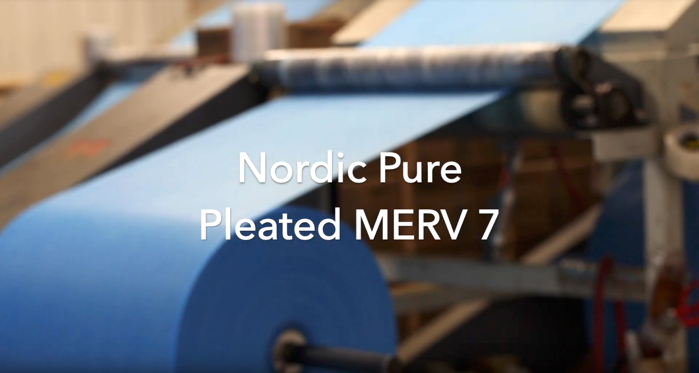 "How an Air/Furnace Filter - 2"" Pleated MERV 7 is made"