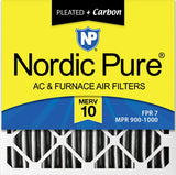 Nordic Pure Pleated + Carbon Air Filters