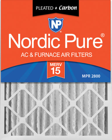 Nordic Pure MERV 15 Pleated Air Filter