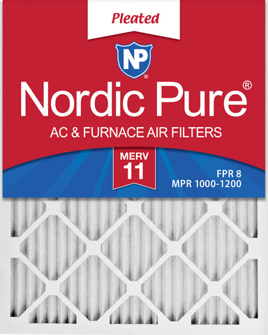 Nordic Pure MERV 11 Pleated Air Filter