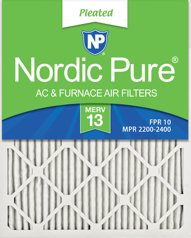 Nordic Pure MERV 13 Pleated Air Filter