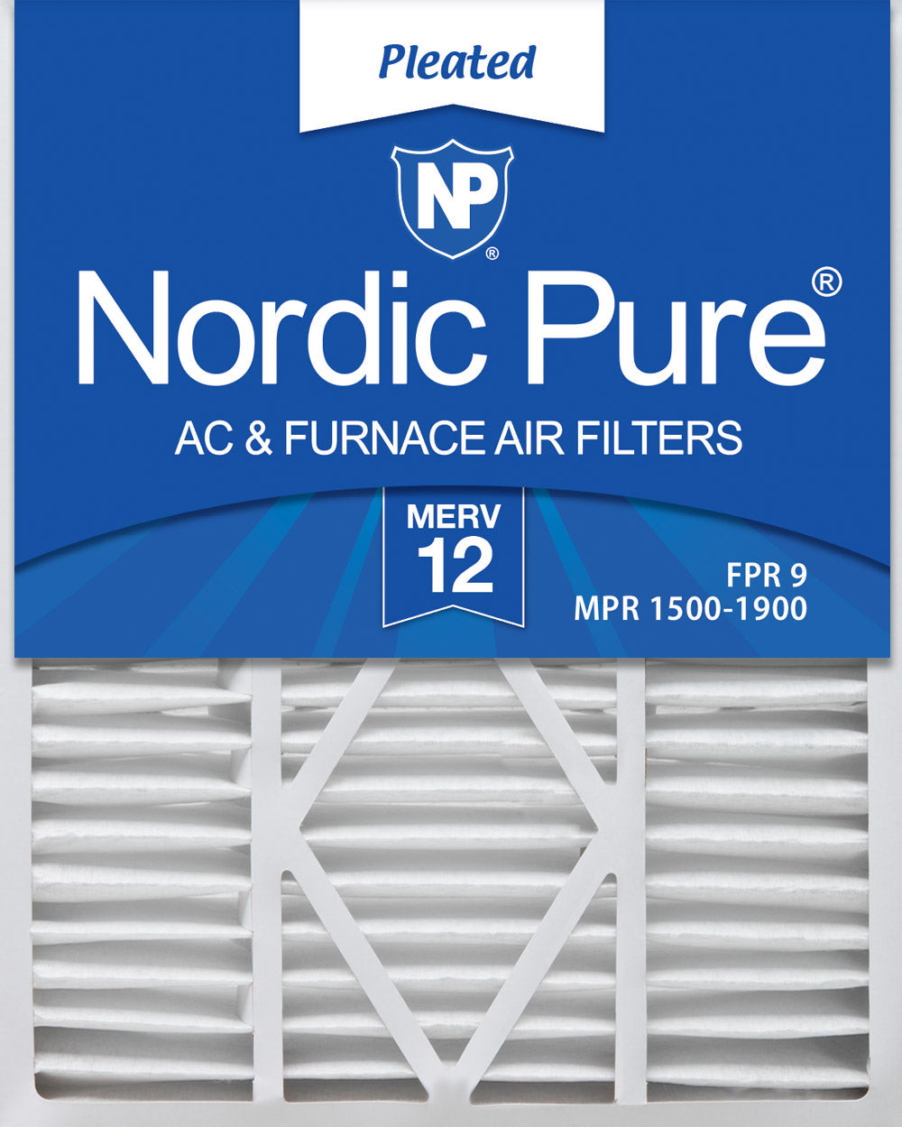 12 PAK BEST MERV 8 RATED PLEATED FILTERS FOR HOME HOUSE FURNACE A//C TOP QUALITY!