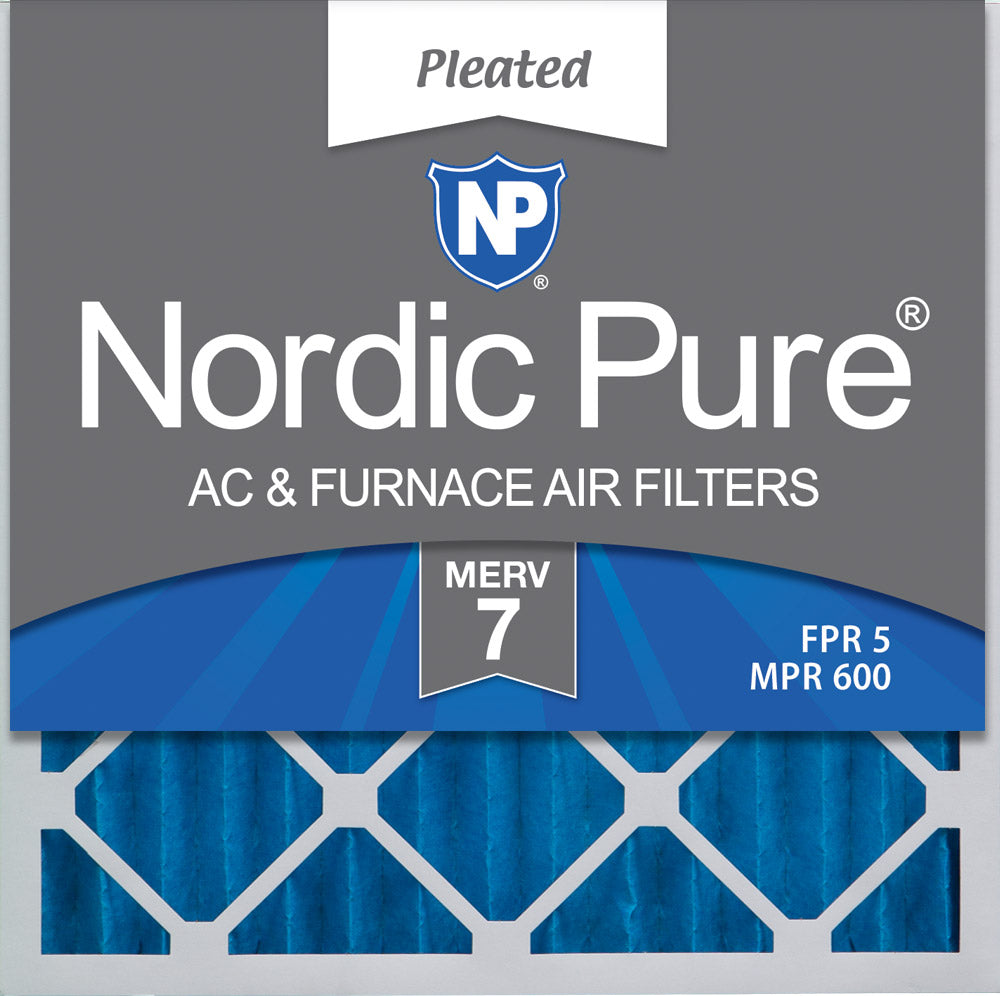 AF 20X20X1 MERV 8 Pleated AC Furnace Air Filter 100/% produced in the USA. Pack of 4 filters