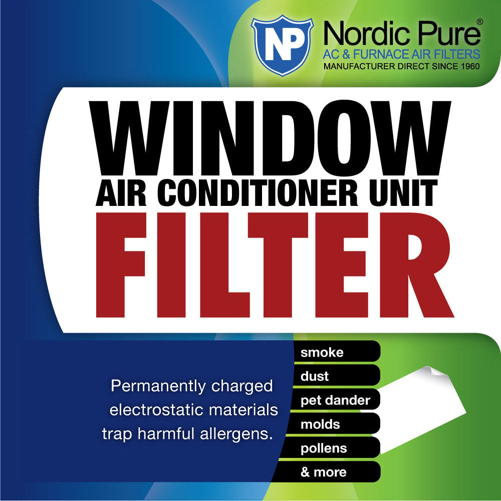 15x24 Window Air Conditioner Unit Filter Pack of 1