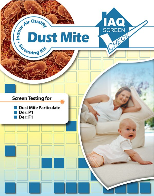 Dust Mite IAQ Screen Check Kit Pack of 1