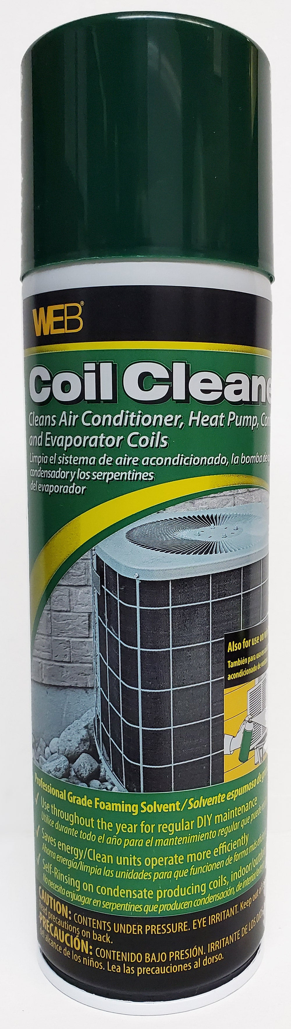 Professional Strength AC Heat Pump Coil Cleaner 19 oz. Pack of 1