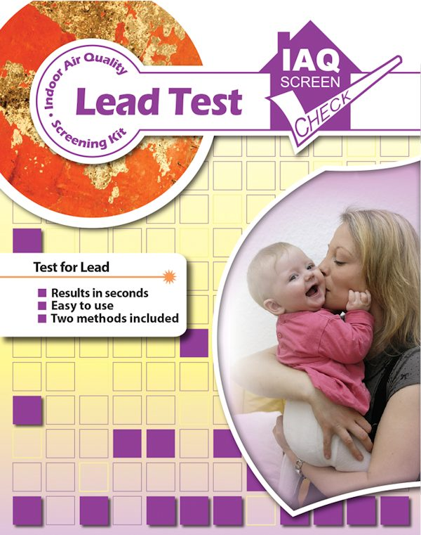Lead IAQ Screen Check Kit Pack of 1
