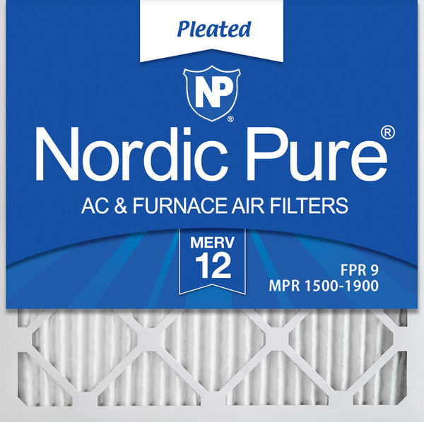 Box of 6 13-1//2 x 23-1//2 x 7//8 14x24x1 MERV 10 AC /& Furnace Air Filters Actual Size