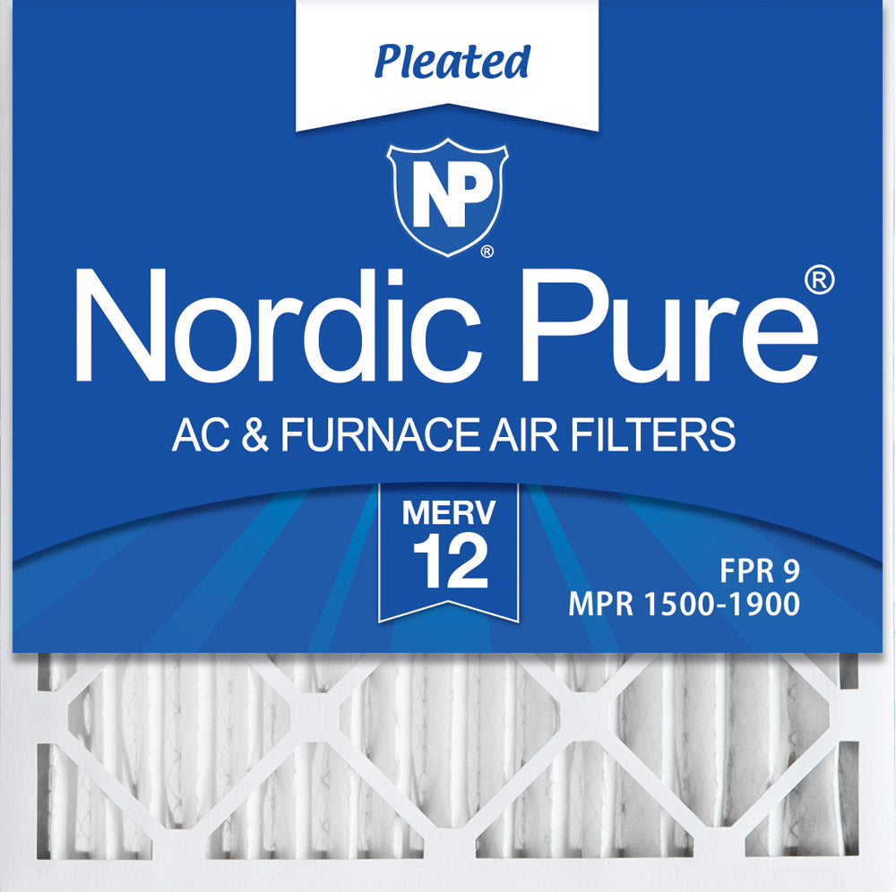 Made in USA 15 Nom Height x 25 Nom Width x 1 Nom Depth 3 Pack Synthetic Wire-Backed Pleated Air Filter