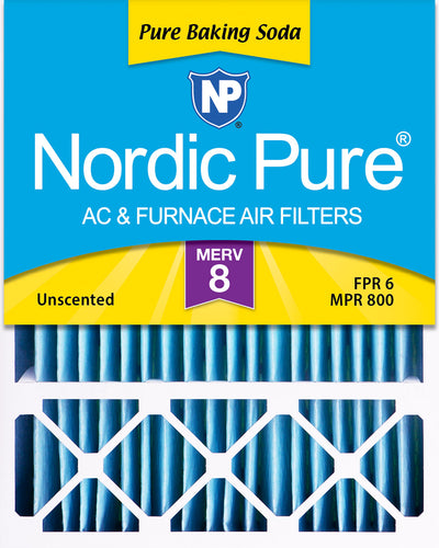 20x25x5 (4 3/8) Pure Baking Soda Odor Deodorizing Honeywell/Lennox Rep Air Filters 1 Pack