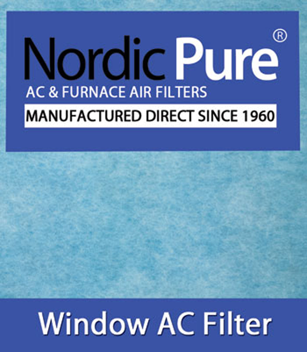 Window Air Conditioner Filter 15x24 Pads 6 Pack