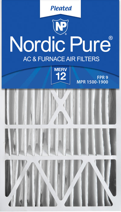 16x28x6 Aprilaire Space-Gard 2400 Replacement Part 401 MERV 12 Air Filters 1 Pack