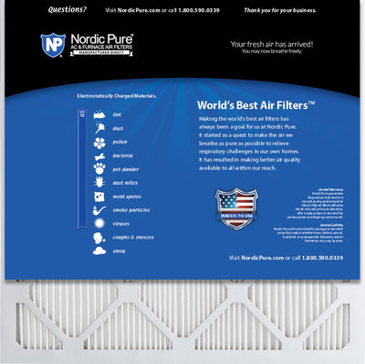 20x20x1 MPR 1900 Healthy Living Max Allergen Reduction Replacement Air Filter 12 Pk
