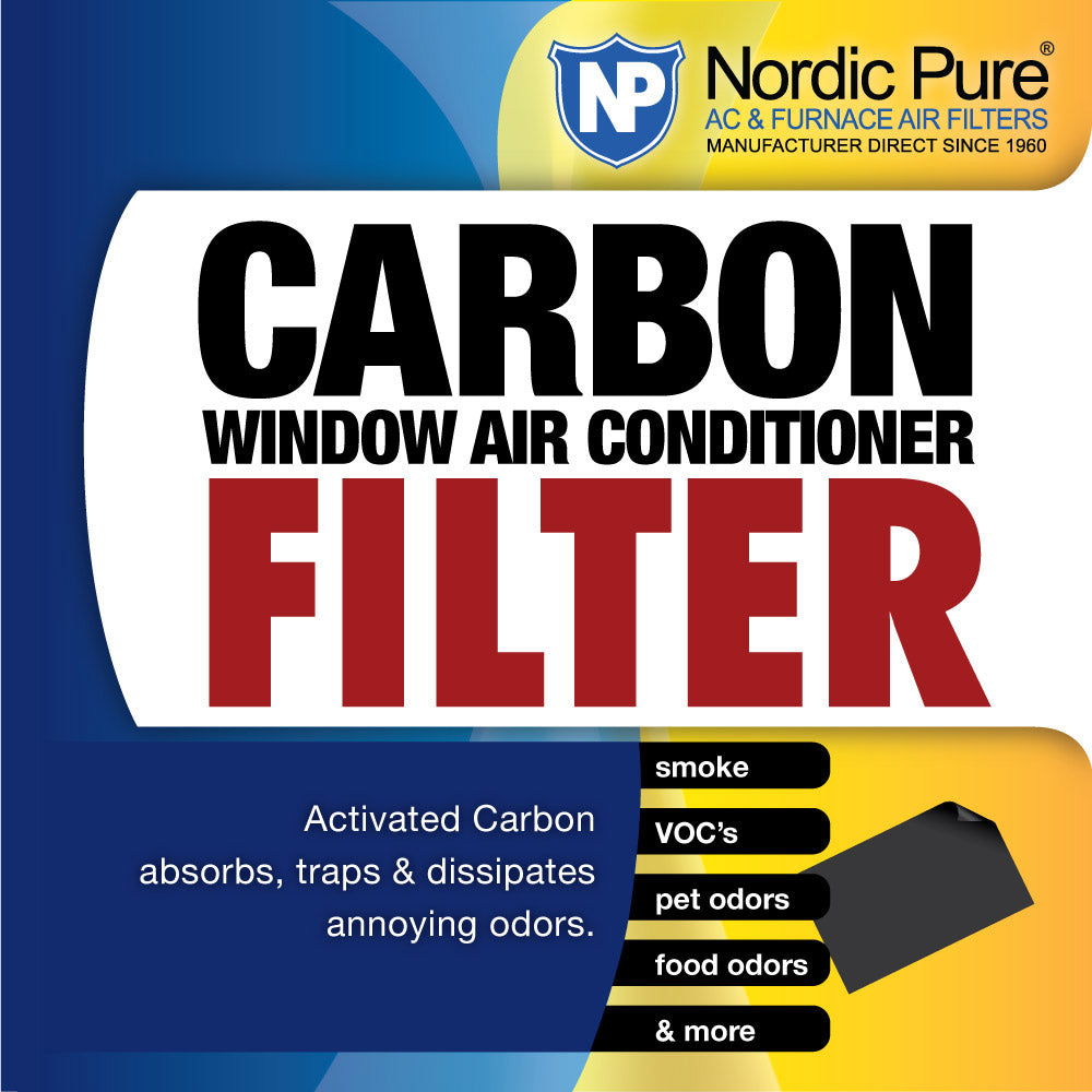 Carbon Window Air Conditioner Filter 14x48 Cut to Fit Pack of 1