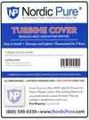 "Turbine Cover Fits 12"" to 14"" Pack of 1 by Nordic Pure"