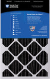 16x25x5 (4 3/8) Honeywell/Lennox Replacement Air Filters MERV 12 Pleated Plus Carbon 2 Pack