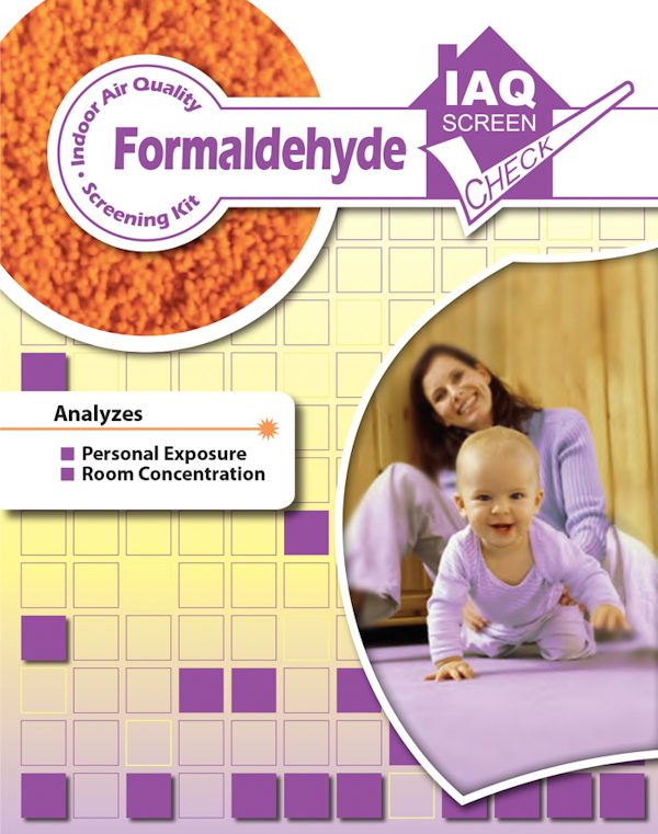 Formaldehyde IAQ Screen Check Kit Pack of 1