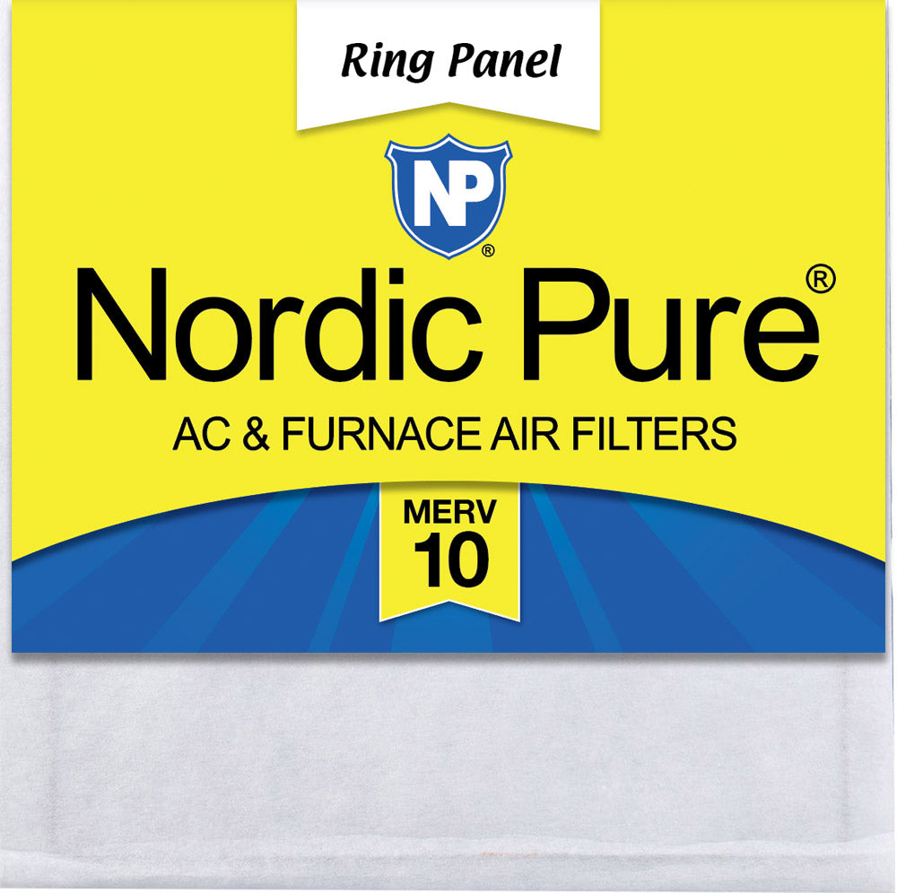 2 Pack 2 Piece Nordic Pure 12x12x1 Pure Carbon Pleated Odor Reduction AC Furnace Air Filters