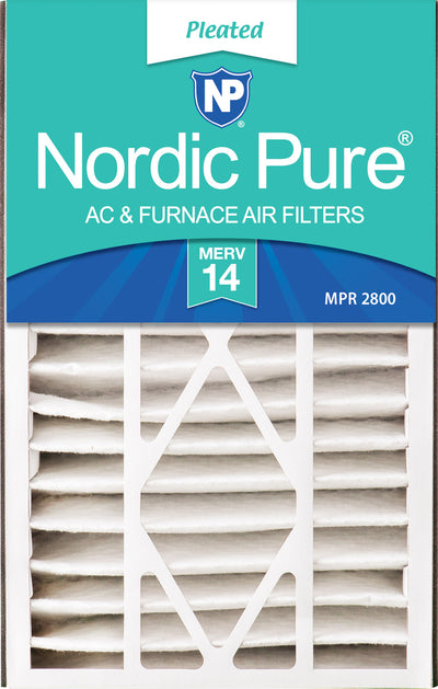 Air Bear 16x25x5 (4 7/8) Replacement 266649-105 MERV 14 Air Filters 1 Pack