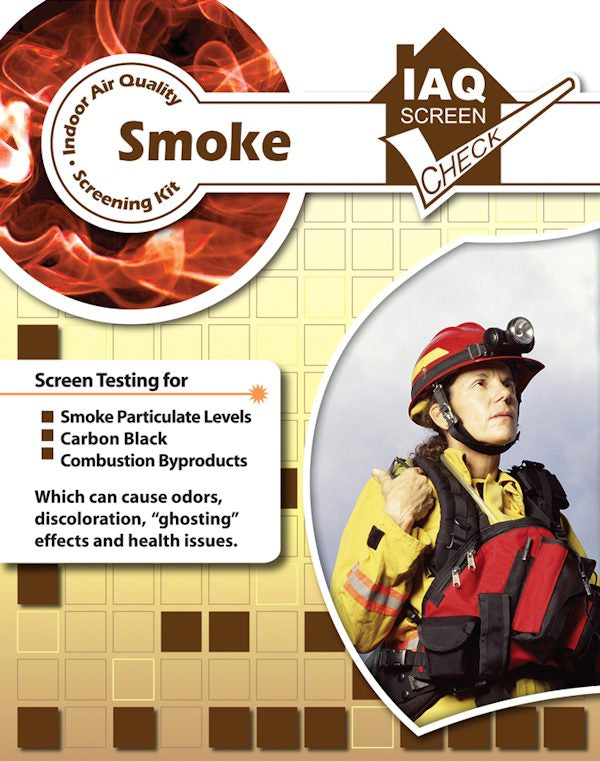 Smoke Particulate IAQ Screen Check Kit Pack of 1
