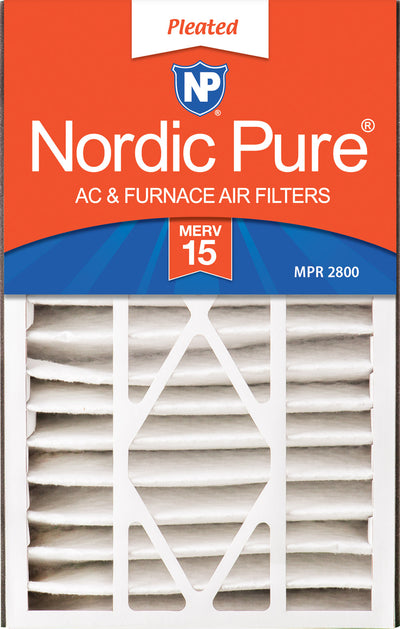 Air Bear 16x25x5 (4 7/8) Replacement 266649-105 MERV 15 Air Filters 2 Pack
