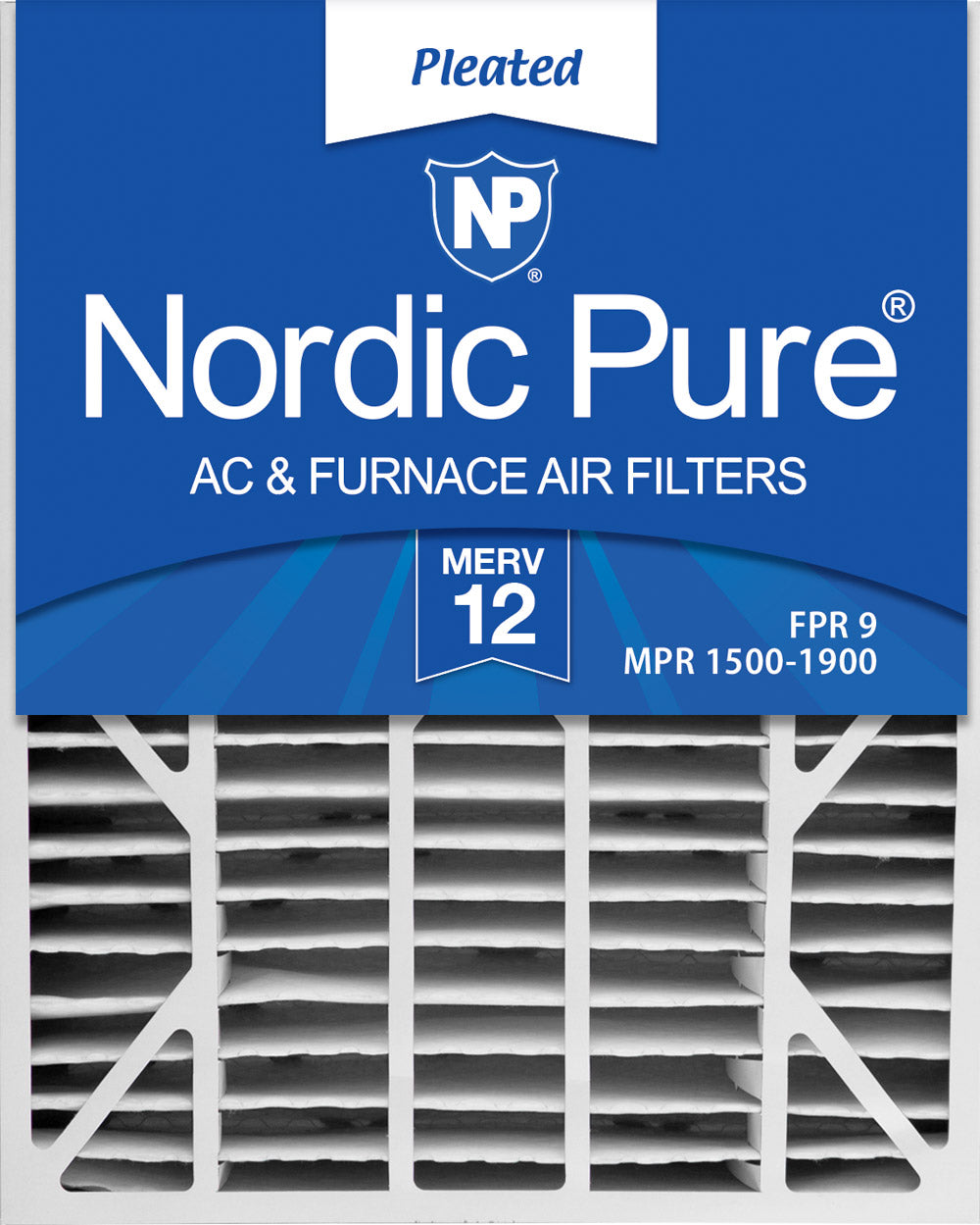 20x25x6 Aprilaire Space-Gard 2200 Replacement Part 201 MERV 12 Air Filters 1 Pack