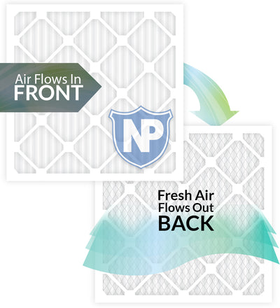 24x24x1 MPR 1085 Pleated Micro Allergen Extra Reduction Replacement Air Filters 6 Pack