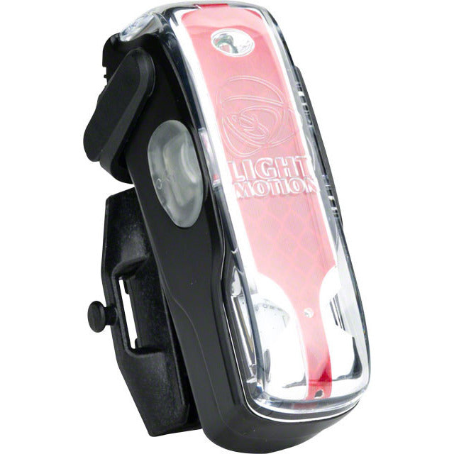 Light and Motion Vis 180 Rechargeable Taillight, Black Raven