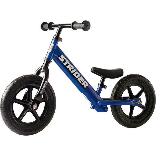Strider 12 Classic Kids Balance Bike: Blue